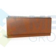 Планинг недатированный Economix AMALFI, коричневый