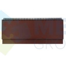 Планинг недатированный Economix SAHARA, коричневый
