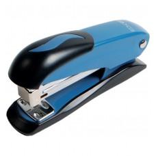 Степлер №24/6, 26/6 Economix, до 20 л., металлический корпус, синий