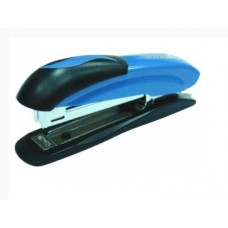 Степлер №24/6, 26/6, 26/8 Economix, до 30 л., металлический корпус, синий