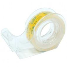 Диспенсер для клейкой ленты с клейкой лентой 12мм х 10м Economix, прозрачный