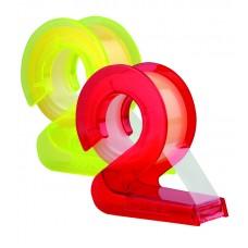 "Диспенсер для клейкой ленты Kores ""2D"", с клейкой лентой ""Transparent"" 10м х 19мм"