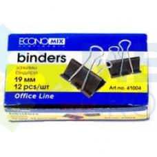 Биндеры для бумаги 19 мм Economix, 12 шт.