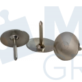 """Кнопки металлические Buromax """"Jobmax"""", никелированные, 100 шт."""