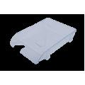 Лоток пластиковый горизонтальный Арника, 370х260х68мм, прозрачный