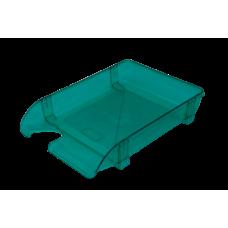 Лоток пластиковый горизонтальный Арника, 370х260х68мм, салатовый