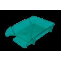 """Лоток пластиковый горизонтальный """"Компакт"""" Jobmax, Арника, 370х270х65мм, салатовый"""