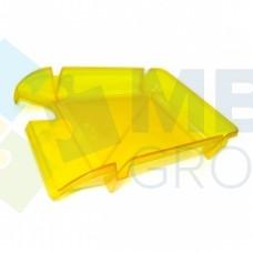 """Лоток горизонтальный """"Компакт"""" Economix, пластиковый, лимонный"""