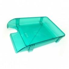 """Лоток горизонтальный """"Компакт"""" Economix, пластиковый, салатовый"""