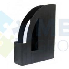 Лоток вертикальный Economix, пластиковый, черный.