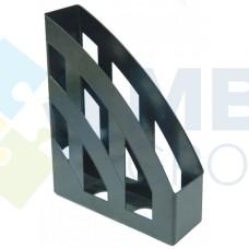Лоток вертикальный Economix, пластиковый, черный