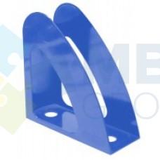 """Лоток вертикальный """"Радуга"""" Economix, пластиковый, синий"""