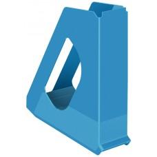 Лоток вертикальный Europost VIVIDA Esselte, пластиковый, синий