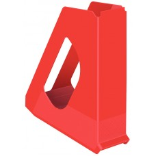 Лоток вертикальный Europost VIVIDA Esselte, пластиковый, красный