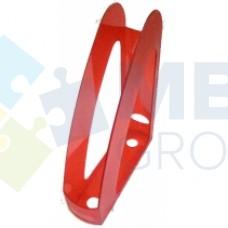 """Лоток вертикальный """"Радуга"""" Economix, пластиковый, красный"""