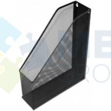 Лоток вертикальный Optima, металлический, черный