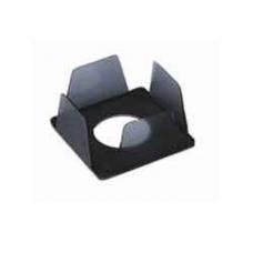 Бокс для бумаги КиП, 90х90х45мм, дымчатый