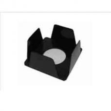 Бокс для бумаги КиП, 90х90х45мм, черный