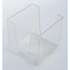 Бокс для бумаги КиП, 90х90х90мм, прозрачный