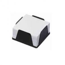 Бокс с белой бумагой КиП, 90х90х45мм, 500л., черный