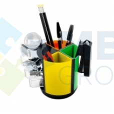 Набор настольный Economix 13 предметов, вращается на 360 °, цветной
