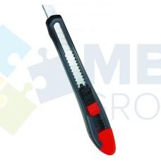 Нож канцелярский 9 мм Optima, пластиковый корпус