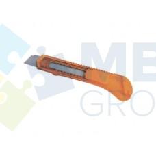 Нож канцелярский 18 мм Economix, пластиковый корпус