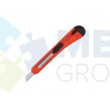 Нож канцелярский 9 мм Economix, пластиковый корпус