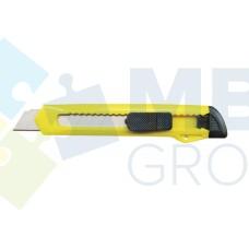 Нож канцелярский 9 мм Format, пластиковый корпус