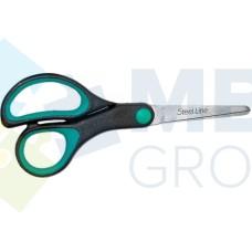 Ножницы 13,5 см Economix, пластиковые ручки с резиновыми вставками