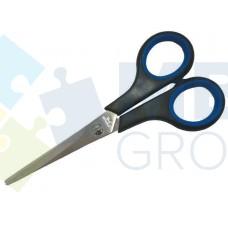 Ножницы 14 см Economix, пластиковые ручки с резиновыми вставками