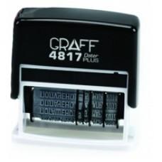 Датер с бухгалтерскими терминами GRAFF 4817Dat, 12 терминов, 3 мм, укр.