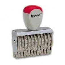 Нумератор ленточный GRAFF 15510, 10 разрядов, 5 мм