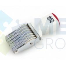 Нумератор ленточный GRAFF 1576, 6 разрядов, 7 мм