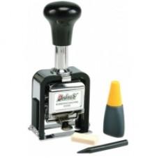 Нумератор автоматический Deskmate 05010, 10 разрядов, 4,8 мм