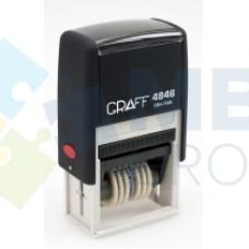 Мини-нумератор GRAFF 4846, 6 разрядов, 4 мм