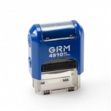 Оснастка автоматическая GRAFF 4910, для штампа 26х9 мм, синяя