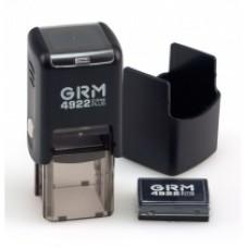 Оснастка автоматическая GRAFF 4922 Plus, для штампа 20х20 мм, черная с футляром