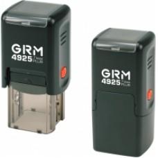 Оснастка автоматическая GRAFF 4925 Plus, для штампа 25х25 мм, черная с футляром