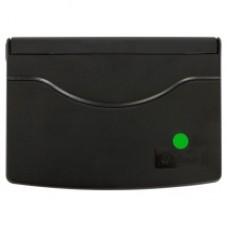 Подушка штемпельная, настольная GRAFF 9052 Plus, размер 110х70 мм, зеленая