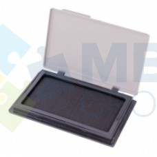 Подушка штемпельная, настольная Economix, размер 70х110 мм, черная