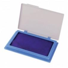 Подушка штемпельная, настольная Economix, размер 70х110 мм, синяя