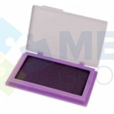 Подушка штемпельная, настольная Economix, размер 70х110 мм, фиолетовая