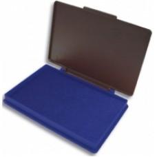 Подушка штемпельная, настольная KORES, размер 110х70 мм, синяя