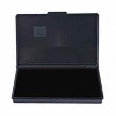 Подушка штемпельная, настольная KORES, размер 110х70 мм, черная