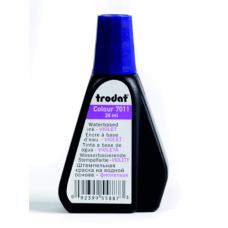 Краска штемпельная Trodat, 28мл, фиолетовая