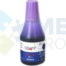 Краска штемпельная GRAFF SK-30, 30 мл, фиолетовая