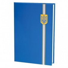Папка на подпись Economix, синий герб