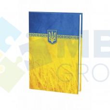 Папка на подпись Economix, желто-голубая