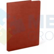 Папка на подпись Optima Nebraska, искусственная кожа, коричневая